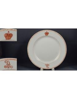 Тарелка десертная Кадетский корпус 1900х (far-51120)