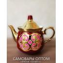 Самовар с казахстанским орнаментом